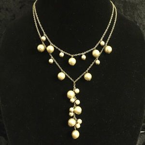 Jewelry - 2-Strand Champagne Pearl Necklace JJ111
